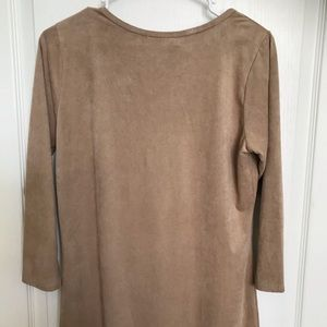 Forever 21 Dresses - NWT Forever 21 Faux Suede Soft Dress large